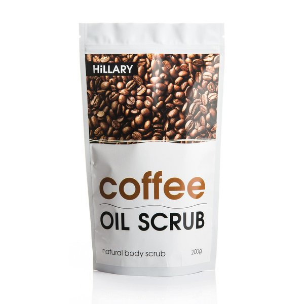 Кофейный скраб для тела Hillary Coffee Oil Scrub, 200 г - фото №1